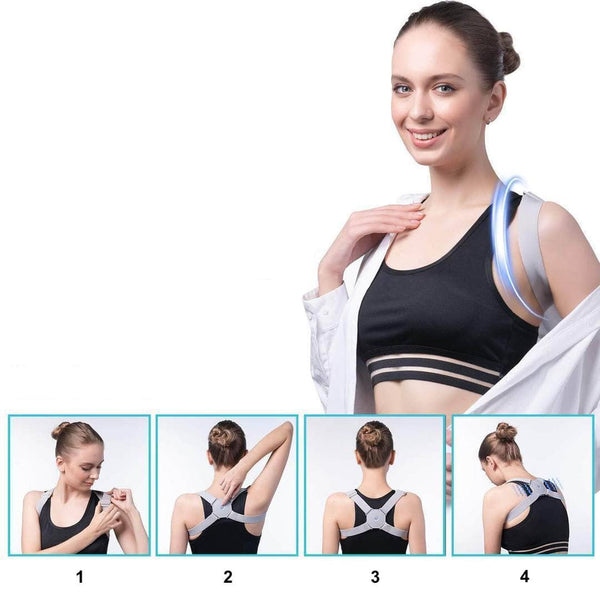 How to wear smart posture corrector