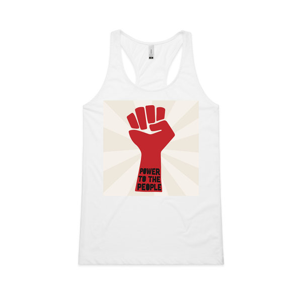 """Fight the Good Fight"" Racerback Tank Top"