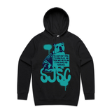"""Earth Isn't Dying, It's Being Killed"" Hoodie"