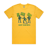 Keep Marching T Shirt - Social Justice Social Club