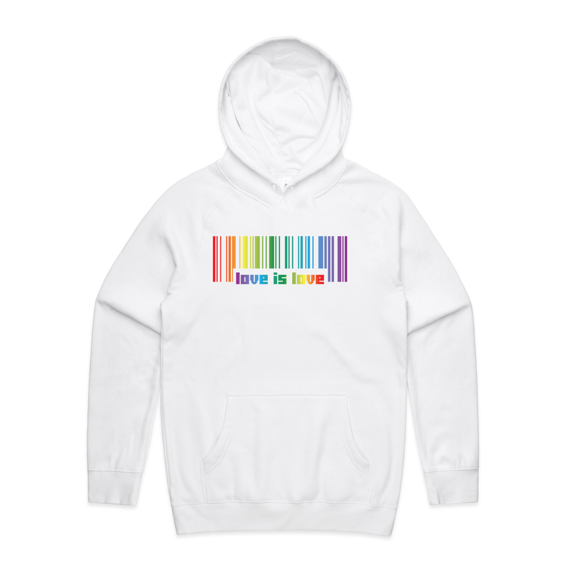 Love is Love Hoodie - Social Justice Social Club