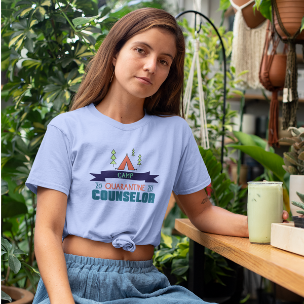 Camp Quarantine  Counselor T Shirt - Social Justice Social Club