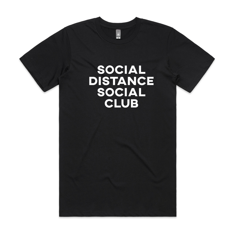 Back to Basics Social Distance Social Club Tee