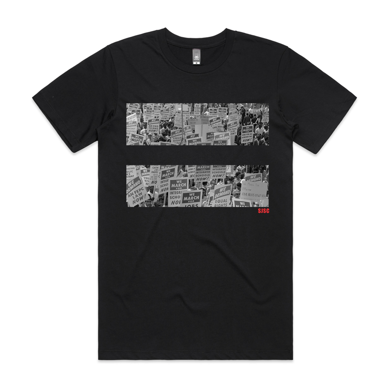 1963 Protest Signs T Shirt - Social Justice Social Club