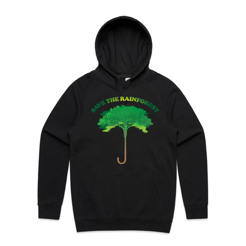 Save the Rainforest Hoodie - Social Justice Social Club