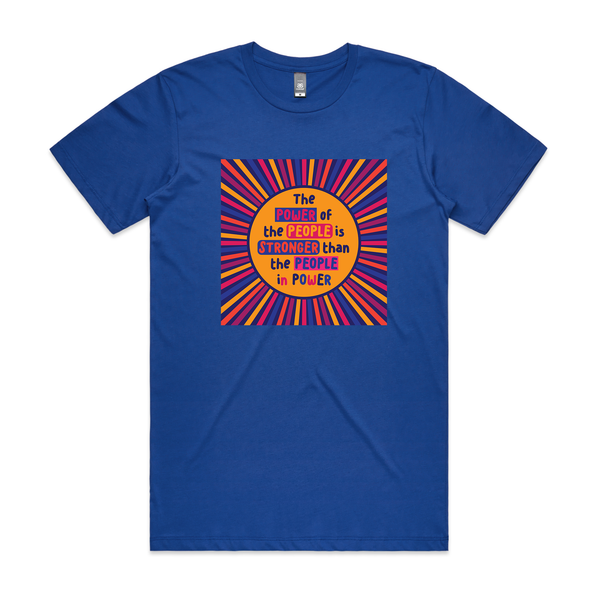 Power of the People T Shirt - Social Justice Social Club