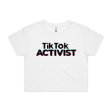 """Tik Tok ACTIVIST"" Crop Top"