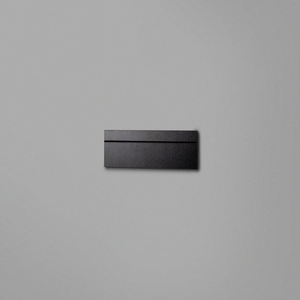 Black Floating Shelving Back Panel 300mm