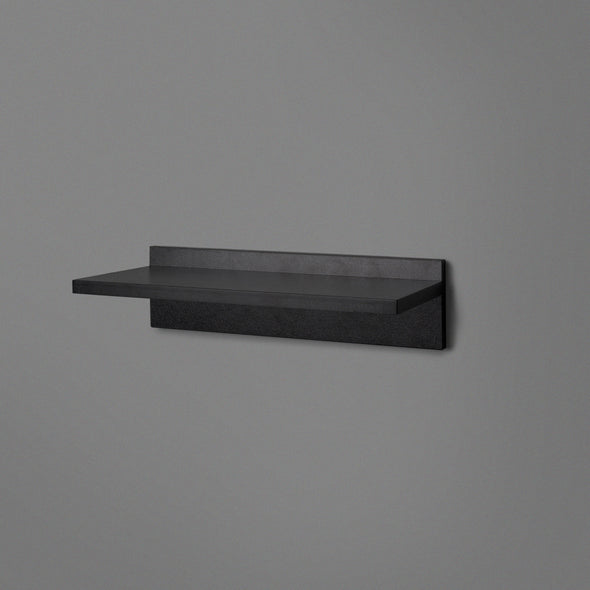 Black Floating Shelving 400mm