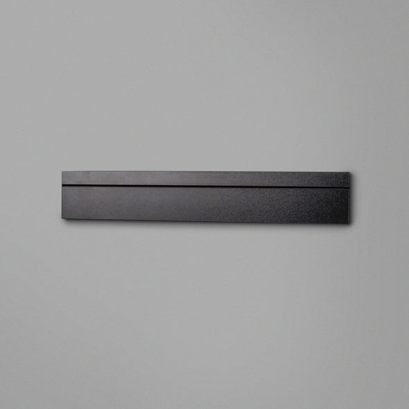 Black Floating Shelving Back Panel 600mm