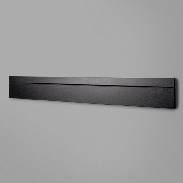 Black Adjustable Floating Shelving 800mm Back Panel