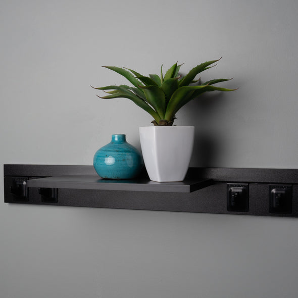 800mm With Shelf & 4 Hooks