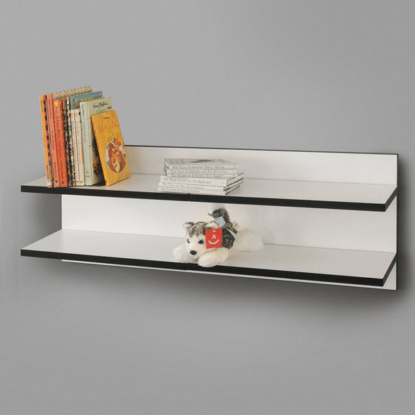 800mm Backpanel 2 lines with 2 x 800mm Shelves
