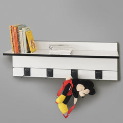 800mm Backpanel 2 lines with 2 x 400mm shelves & 4 prongs
