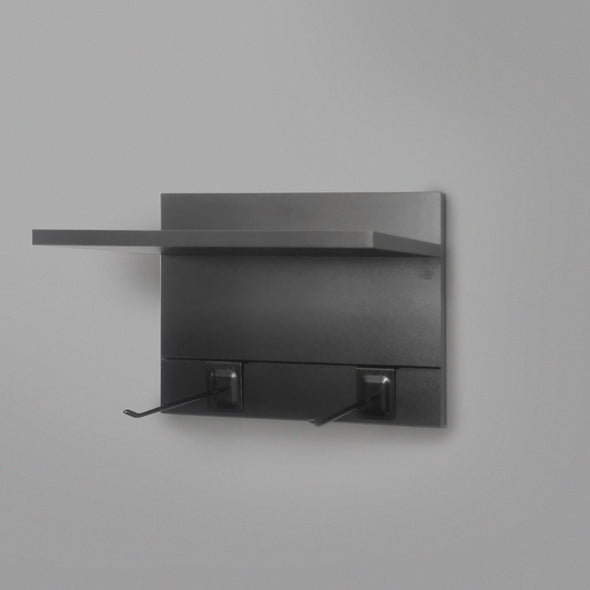400mm Backpanel 2 lines with 1 x 400mm Shelf & 2 Prongs