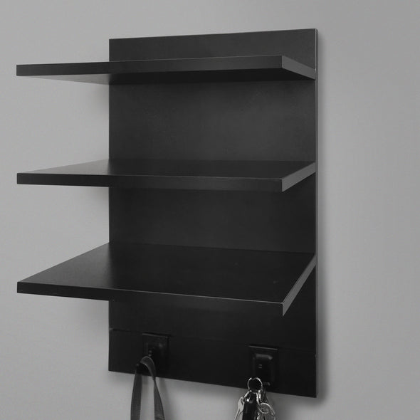 400mm Backpanel 4 line with 3 x 400mm Shelf & 2 Hooks