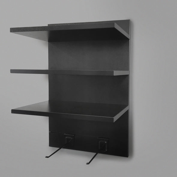 400mm Backpanel 4 line with 3 x 400mm Shelves & 2 Prongs