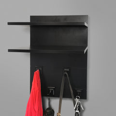 400mm Backpanel 4 line with 2 400mm Shelves & 4 Hooks