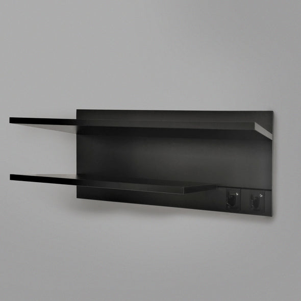 800mm Backpanel 2 lines with 1 x 800 Shelf, 1 600 shelf plus 2 Hooks