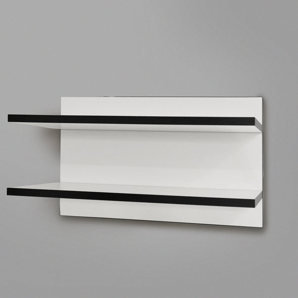 600mm Backpanel 2 lines with 2 600mm Shelves