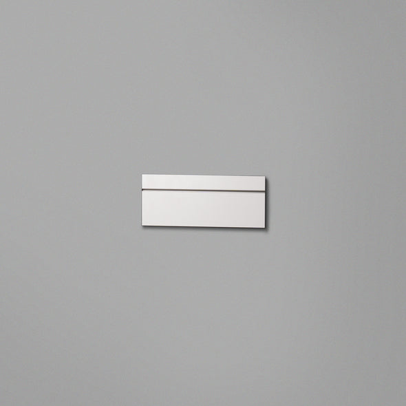 White Floating Shelving Back Panel 300mm