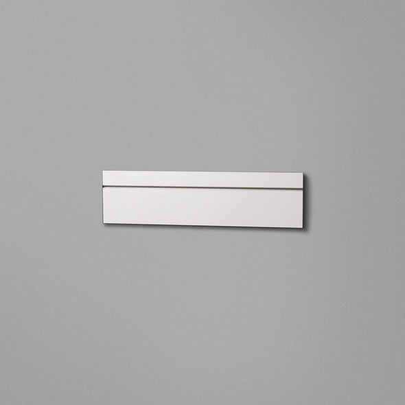White Floating Shelving Back Panel 400mm