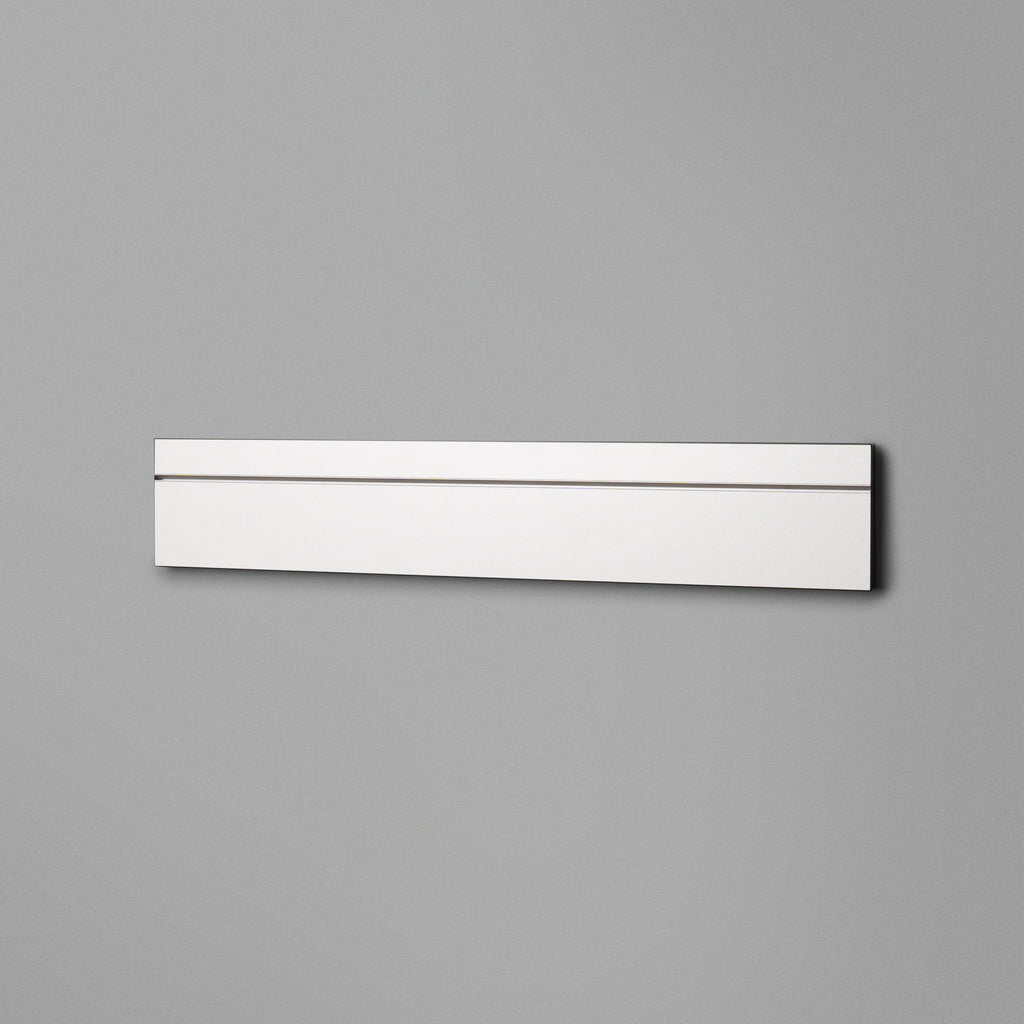 White Floating Shelving Back Panel 600mm