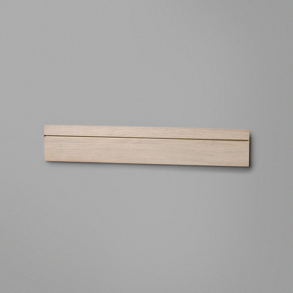 Woodgrain Floating Shelving Back Panel 600mm