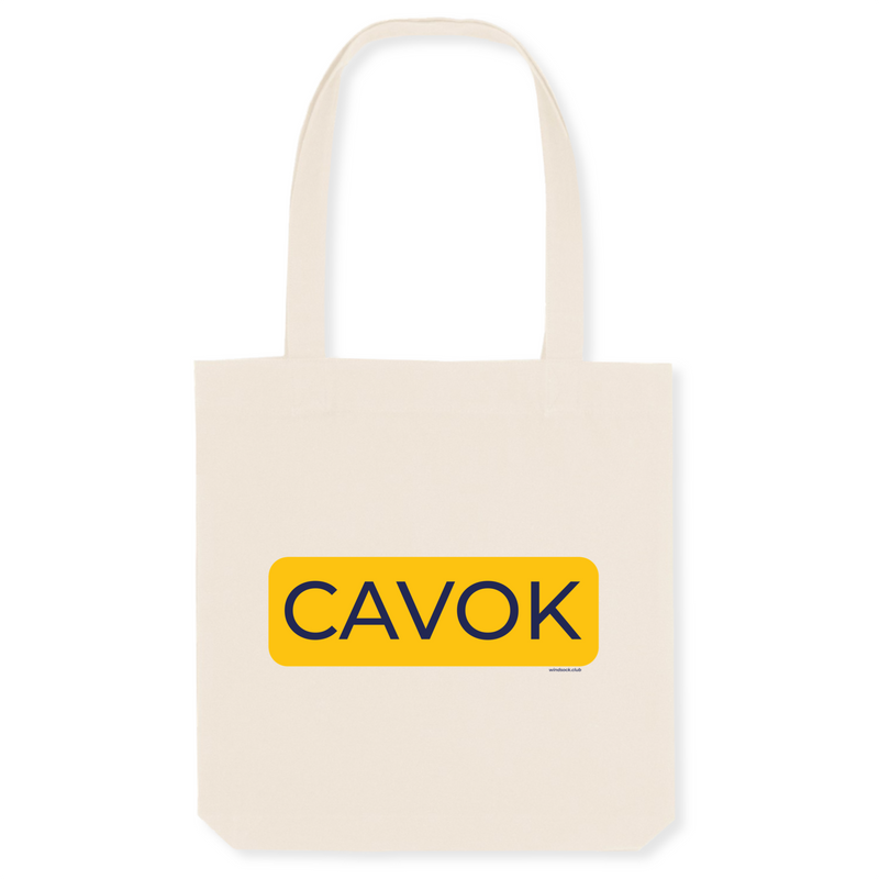 Tote bag coton bio | CAVOK - windsock.club
