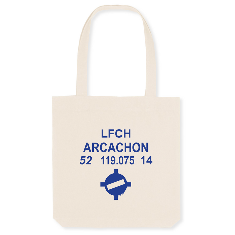 Tote bag coton bio | LFCH ARCACHON - windsock.club