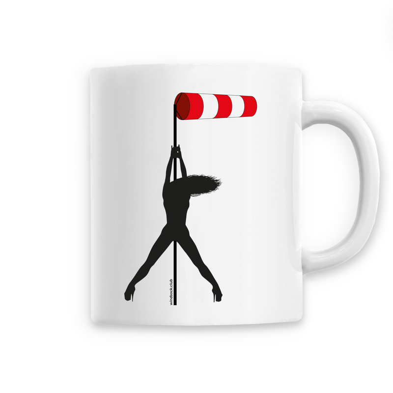 Mug céramique | Windsock pole dance - windsock.club
