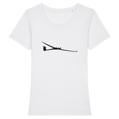 T-shirt femme 100% bio | Planeur - windsock.club
