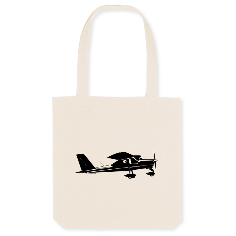 Tote bag coton bio | Tecnam P92 - windsock.club