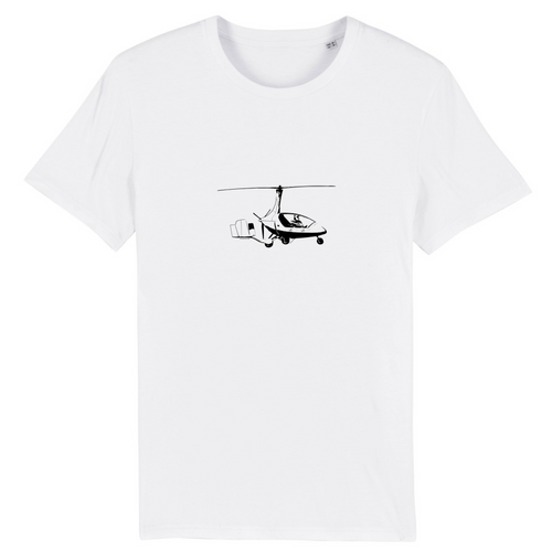 T-shirt homme 100% bio | AutoGyro Calidus - windsock.club