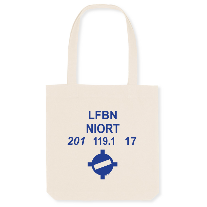 Tote bag coton bio | LFBN NIORT - windsock.club