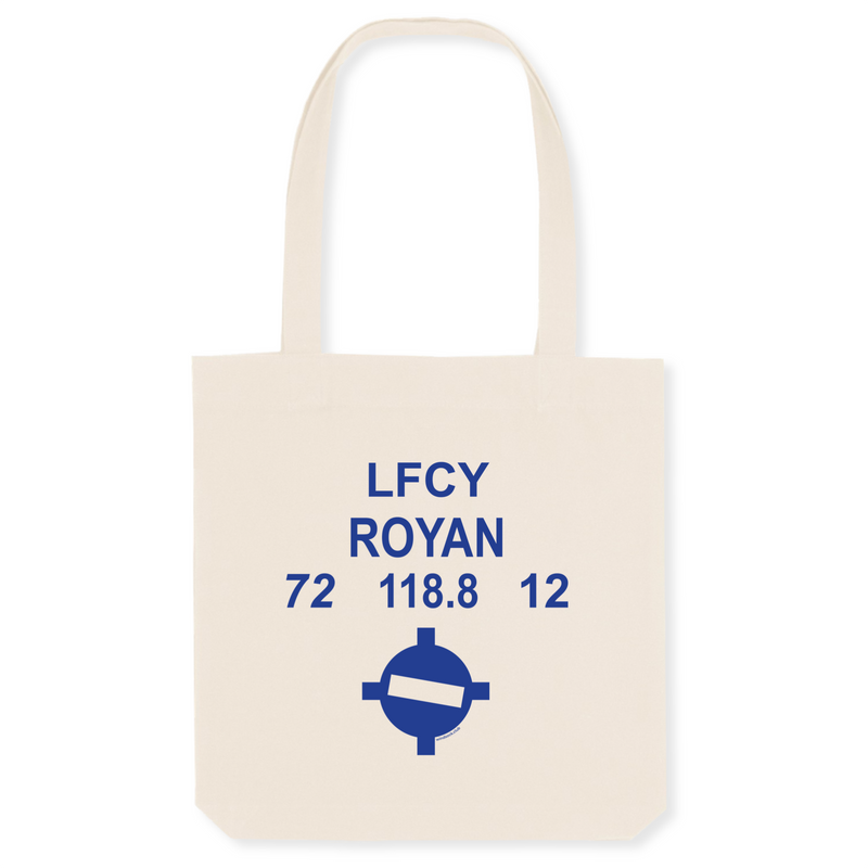 Tote bag coton bio | LFCY ROYAN - windsock.club