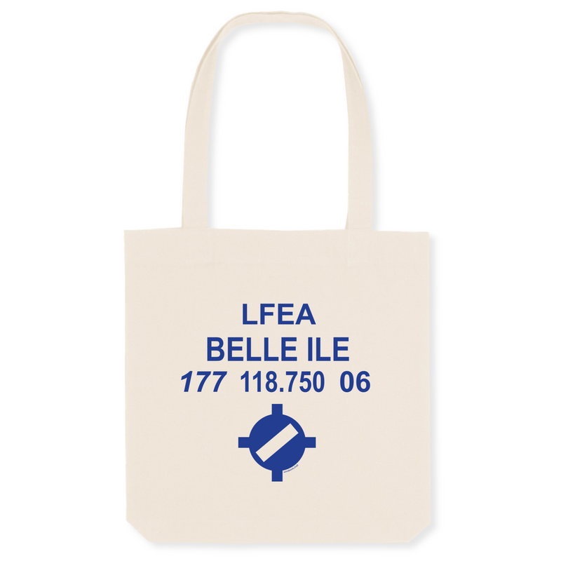 Tote bag coton bio | LFEA BELLE ILE - windsock.club
