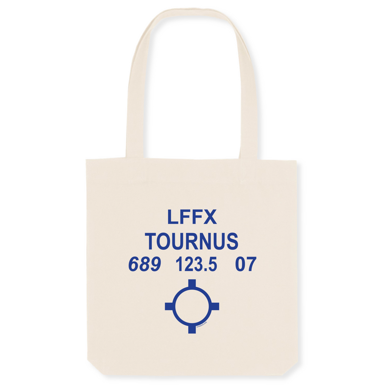 Tote bag coton bio | LFFX TOURNUS - windsock.club