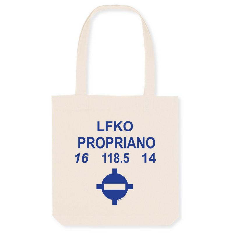 Tote bag coton bio | LFKO PROPRIANO - windsock.club