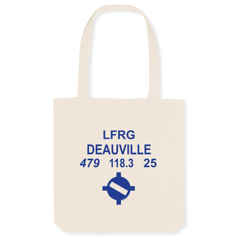 Tote bag coton bio | LFRG DEAUVILLE - windsock.club