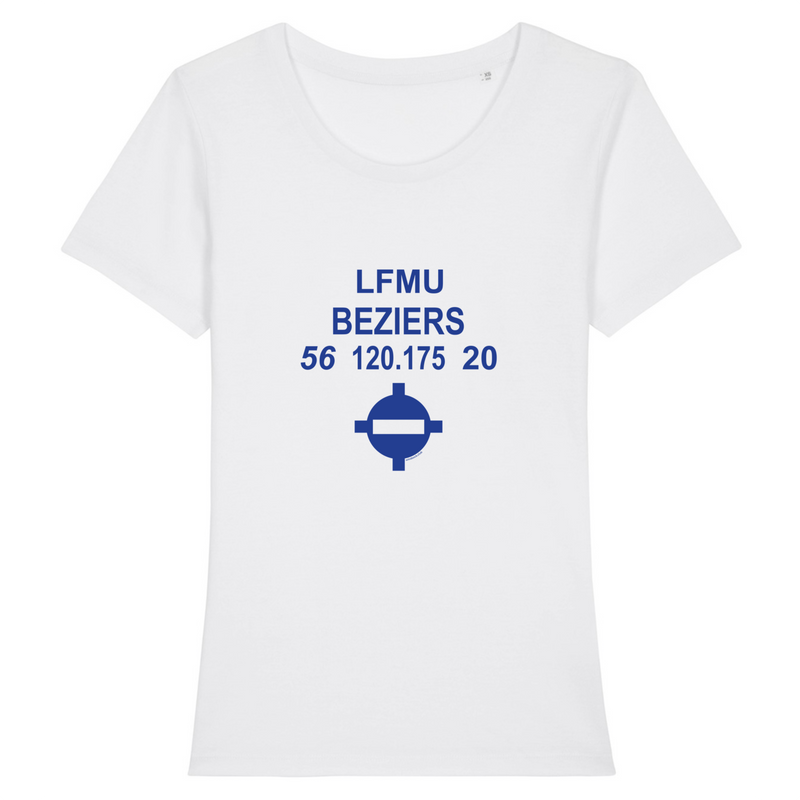 T-shirt femme 100% bio | LFMU BEZIERS - windsock.club