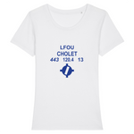 T-shirt femme 100% bio | LFOU CHOLET - windsock.club