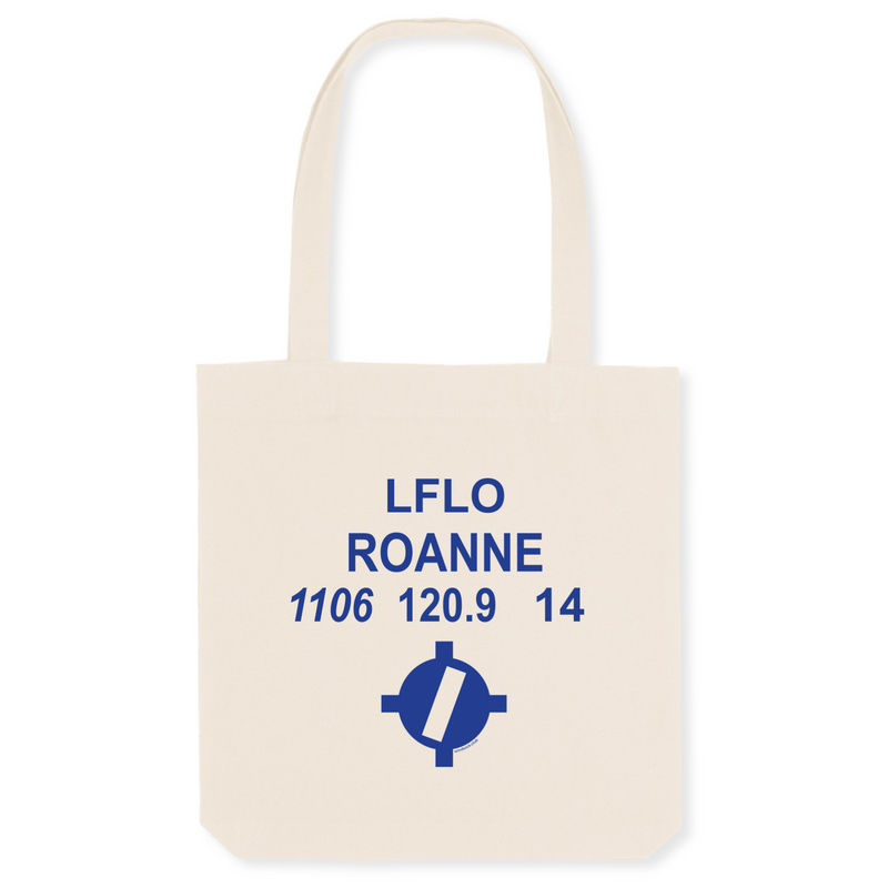 Tote bag coton bio | LFLO ROANNE - windsock.club