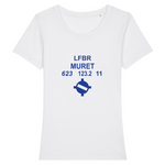 T-shirt femme 100% bio | LFBR MURET - windsock.club