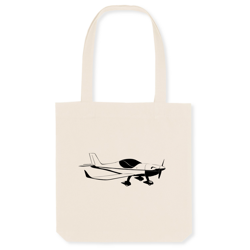 Tote bag coton bio | Gaz'aile II - windsock.club