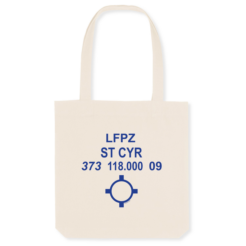 Tote bag coton bio | LFPZ ST CYR - windsock.club