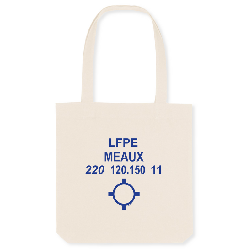 Tote bag coton bio | LFPE MEAUX - windsock.club