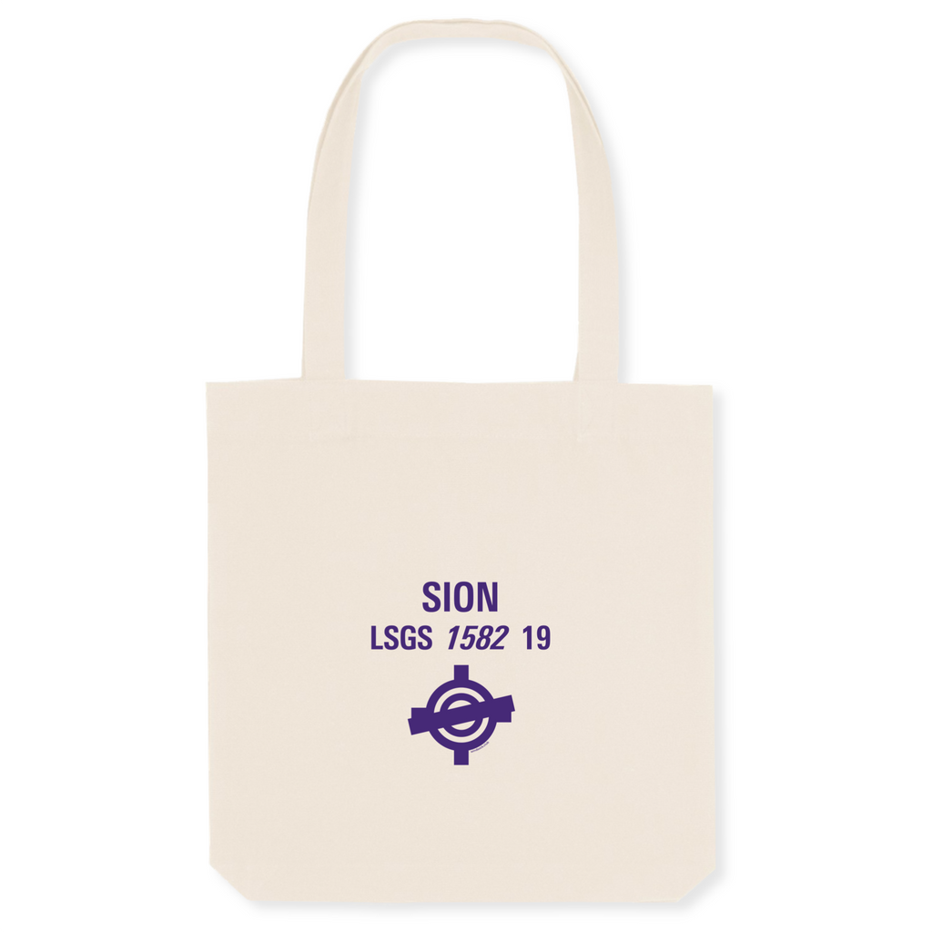 Tote bag coton bio | LSGS SION - windsock.club
