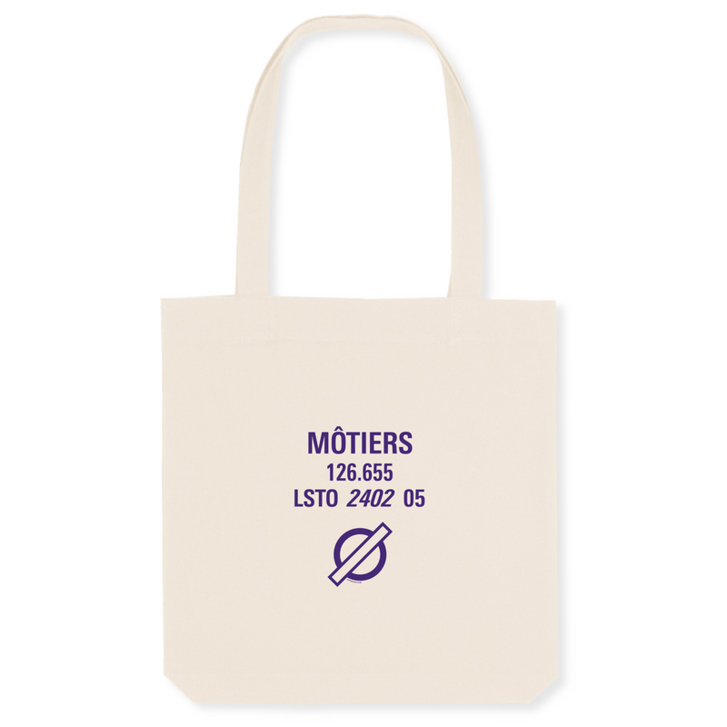 Tote bag coton bio | LSTO MÔTIERS - windsock.club
