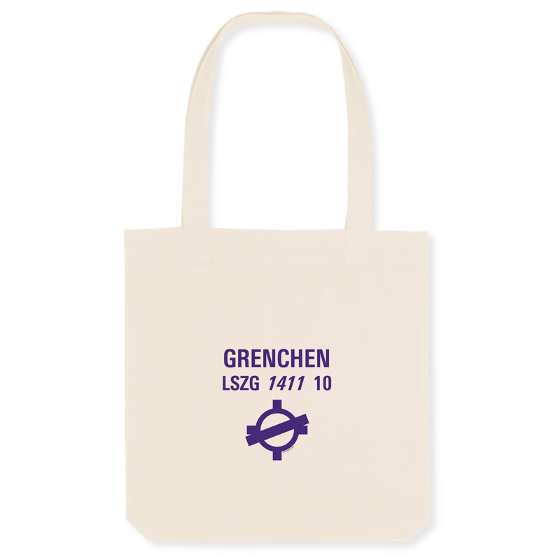 Tote bag coton bio | LSZG GRENCHEN - windsock.club